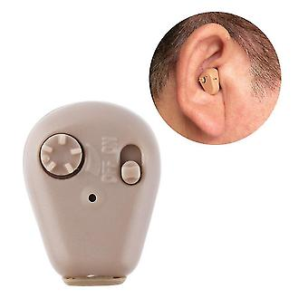 K-88 in ear mini digital hearing aids assistance adjustable sound amplifier promotion quality new arrival  hearing aids eu plug