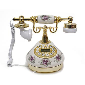 Antique Style Rotary Phone Princess French Style Old Fashioned Handset Telephone Tc-506