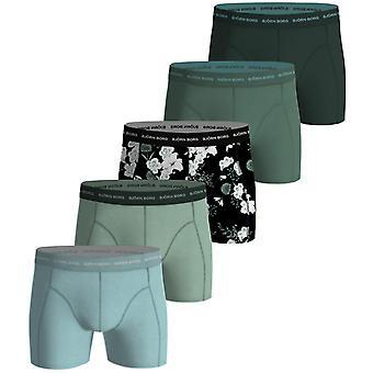 Bjorn Borg Men's Boxer Shorts 5 Pack ~ Black Bouquet