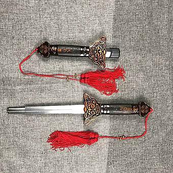 Miekka ruostumaton teräs, Teleskooppinen esitys Taistelulajien rekvisiitta, Ulkona
