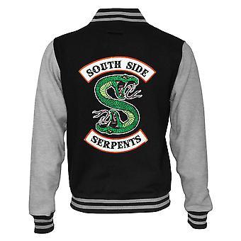 Riverdale Mens South Side Serpents Varsity Jacket