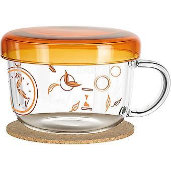 FengChun My Moment Teeglas, Glas, Mehrfarbig, 10 cm