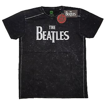 Snow Wash The Beatles Drop T Logo Official Tee T-Shirt Unisex