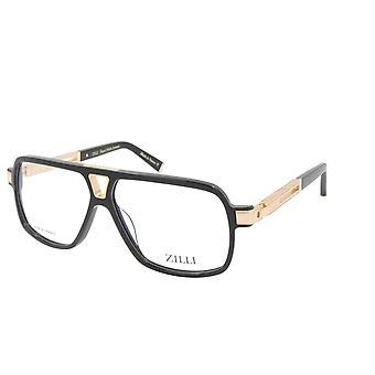 ZILLI Glasögon Ram Titanacetat Frankrike Tillverkad ZI 60048 C01