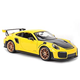 1:24 Porsche Sports Car Static Die Cast Vehicles Collectible Model Car Toys|Diecasts & Toy Vehicles