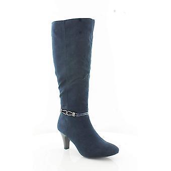 Karen Scott Womens Hollee weefsel amandel teen knie High Fashion laarzen