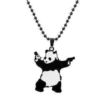 Kung Fu Panda Necklace Cartoon Pendant