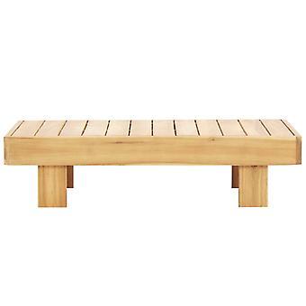 vidaXL sohvapöytä 100 x 60 x 25 cm acacia puu kiinteä