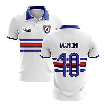 2020-2021 سامبدوريا بعيدا مفهوم قميص كرة القدم (مانشيني 10)