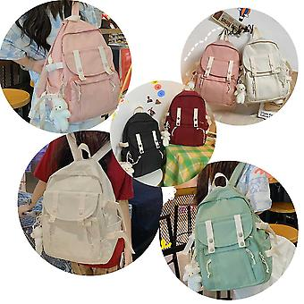 حقيبة ظهر المدرسة للبنات المراهقات خفيفة الوزن BookBags الابتدائية دائم Schoolbag