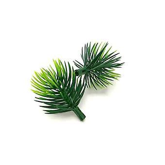فروع الصنوبر النباتات الاصطناعية