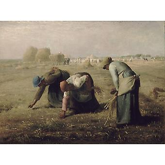 The Gleaners, Jean-francois Millet Art Reproduction. Realism Style Modern Hd Art Print Poster, Canvas Prints Wall Art For Office Home Decor Pictures