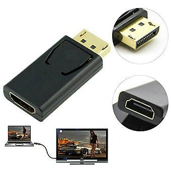 Display Port DP Férfi HDMI női lapos adapter csatlakozó konverter PC szerszámhoz