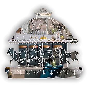 Fairground Horse Carousel Acrylic Mirror