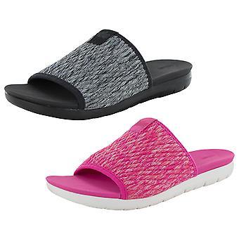 Fitflop Femmes Artknit Slide Knit Piscine Sandal Chaussures