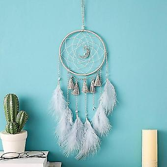Beautiful Colored Feathers Dreamcatcher -wall Hanging