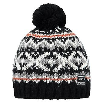 Barts Pazo Bobble Hat in Black