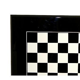 Black & biały deska drewno