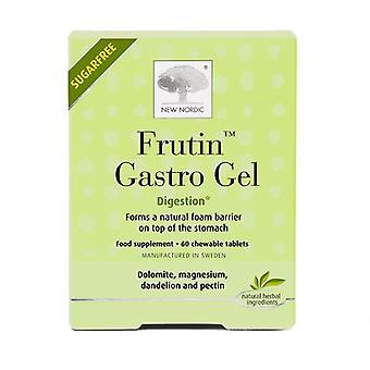 New Nordic Fruitin Gastro Gel Chew Tabs 60 (NLF028)