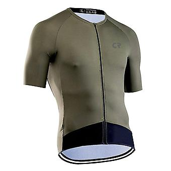 Men Summer Short Sleeve Breathable Cycling Jersey Clothes Dry Quick Tops Maillot Ciclismo Mtb Bike Wear Racing Clothes