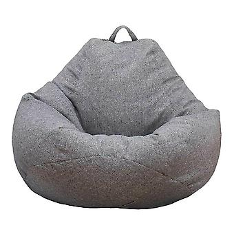 Large Bean Bag Chair Cover Only, Washable Sofa Cover Indoor Lounger, No Filling