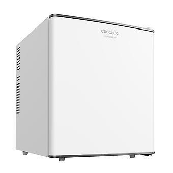 Cecotec Mini Bar Grandcooler 10000 Silent White, Capacité de 46 L, Efficacité énergétique A+, Technologie thermoélectrique, Sile