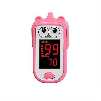 Baby vinger oximeter voor kinderen kinderen vinger clip pulse backlit scherm nauwkeurige gezondheidstests