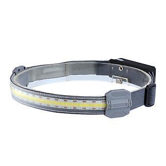 Cob Headlamp Soft Light Night Light Running Small Headlight Usb Rechargeable Outdoor Riding Portable Running Headlight