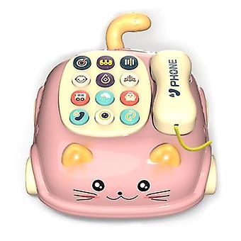 חתול טלפון רב תכליתי מודל חינוך מוקדם פאזל תינוק