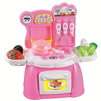 Children Play House Toys Simulation Fruits And Vegetables Kitchen Table Boys And Girls Gifts