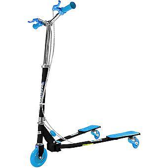 Ozbozz Scissor Scooter - Noir & Bleu