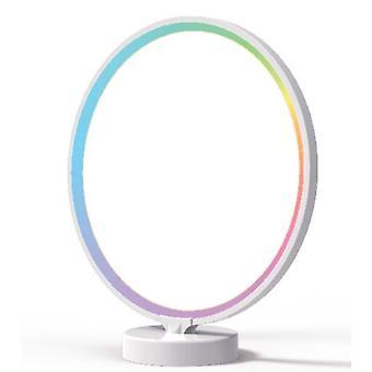 Phototherapielampe, LED Solarlampe 10000 Lux ohne UV mit 3 einstellbaren Temperaturen, Touch Control mit kontinuierlicher Helligkeit, Timer und Stora