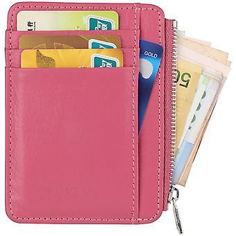 Nahkalompakko Erittäin ohut etutasku lompakko 8 luottokorttikotelo