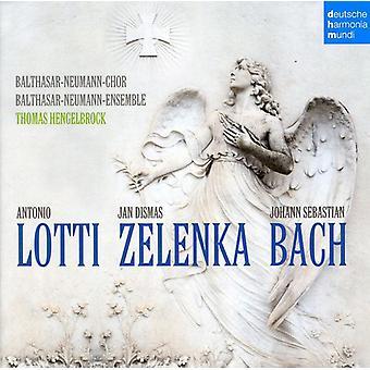 Thomas Hengelbrock - Lotti, Zelenka, Bach [CD] USA import