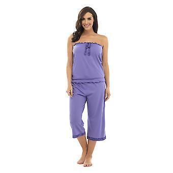 Ladies Tom Franks Bandeau Top Pyjama pajama Sleepwear
