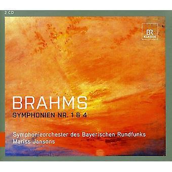 J. Brahms - Brahms: Symphonien Nos. 1 & 4 [CD] USA import