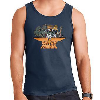 Dexters Laboratory Justice Friends Men's Vest