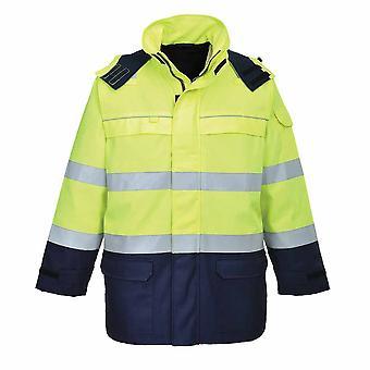 Portwest - Bizflame φλόγα αντισταθεί πολλαπλού τόξου hi-vis ασφάλεια workwear σακάκι