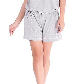 Mio Lounge Pinstripe Grey Jersey Sleep Shorts ML16J1PJS