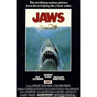 Jaws - Movie Poster Print Poster Poster Print