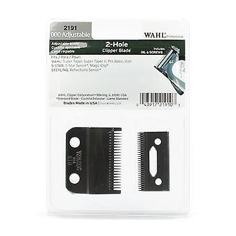 Wahl præcision Fade 2191 2-huls justerbar Clipper kniv sæt