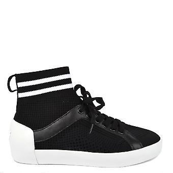 نينجا الأحذية الرماد الأسود آند الأبيض حك مدرب