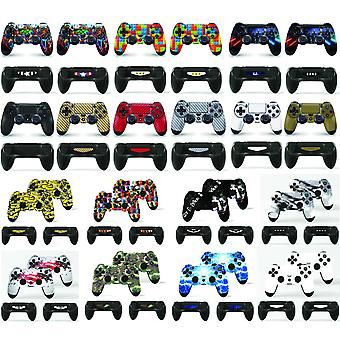 GNG 2 x PlayStation 4 PS4 Controller Skins Full Wrap Vinyl Sticker
