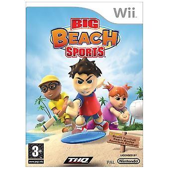 Big Beach Sports (Wii)-fabriken förseglad