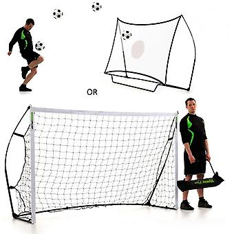 Quick Play - Kickster Combo -Football Goal/Rebounder