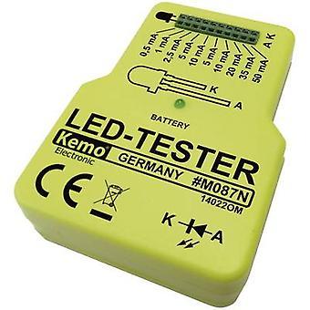 Kemo M087N LED tester Component 9 V DC