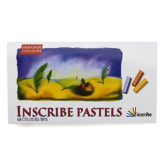 Inscribe Pastels 48 Colours MPS
