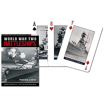 World War 2 Battleships Set Of Playing Cards