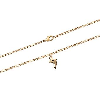 Dauphin Cheville Chain in Yellow Gold Plate798