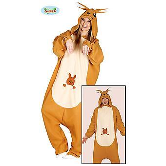 Kangaroo Pajama jumpsuit animal costume Australia jumpsuit adult costume